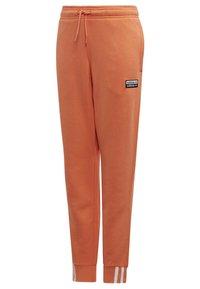 adidas Originals - JOGGERS - Tracksuit bottoms - orange - 4