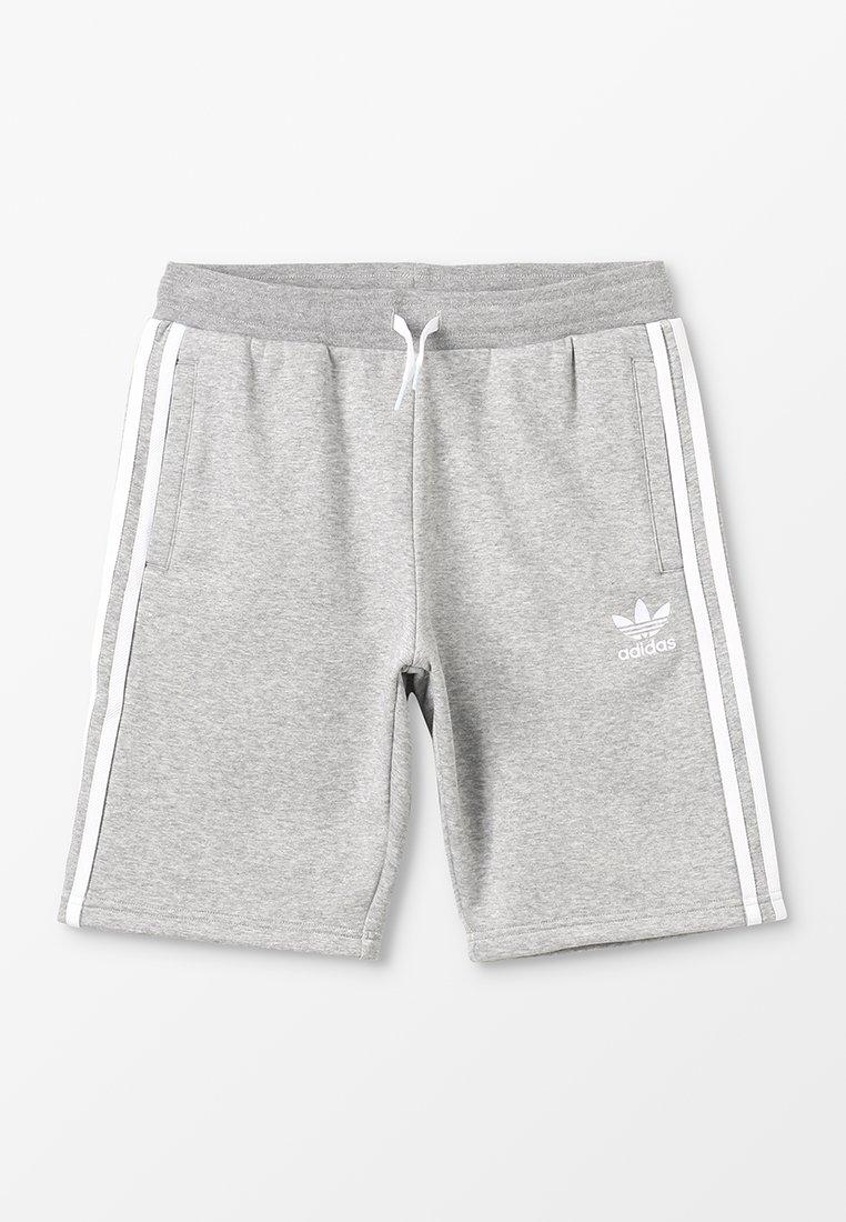 adidas Originals - Shorts - medium grey heather/white