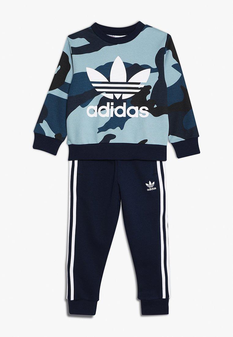 adidas Originals - CAMO CREW SET - Sweatshirt - multicolor/white