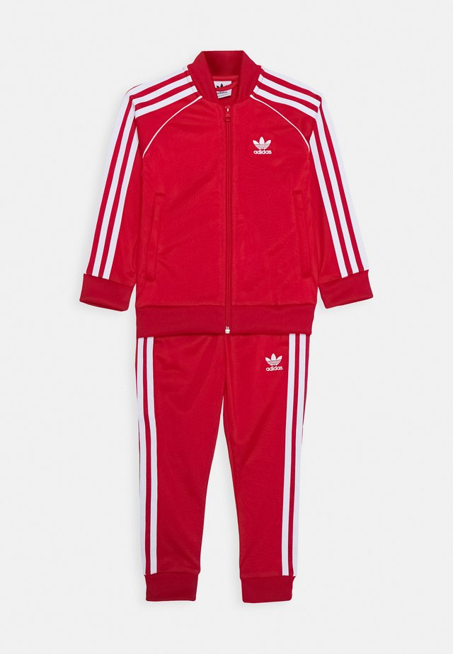 SUPERSTAR SUIT - Tracksuit - scarlet/white
