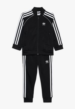 SUPERSTAR SUIT SET - Verryttelypuku - black/white