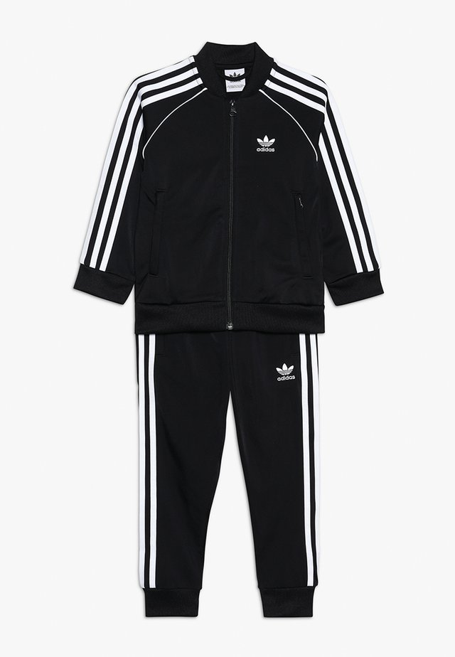 SUPERSTAR SUIT SET - Trainingspak - black/white