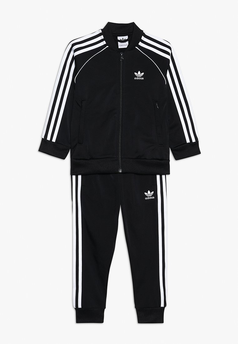 adidas Originals - SUPERSTAR SUIT - Verryttelypuku - black/white