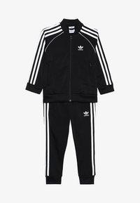 adidas Originals - SUPERSTAR SUIT - Tuta - black/white - 5