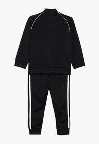 adidas Originals - SUPERSTAR SUIT - Tracksuit - black/white - 1
