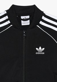 adidas Originals - SUPERSTAR SUIT - Tracksuit - black/white - 6