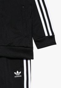 adidas Originals - SUPERSTAR SUIT - Tracksuit - black/white - 4