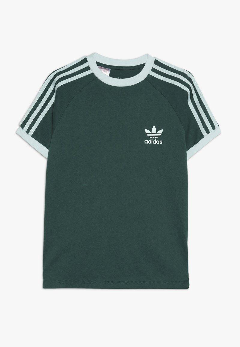 adidas Originals - 3 STRIPES TEE - T-shirts print - dark green