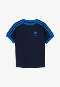adidas Originals - 3 STRIPES TEE - Print T-shirt - collegiate navy/blue - 2