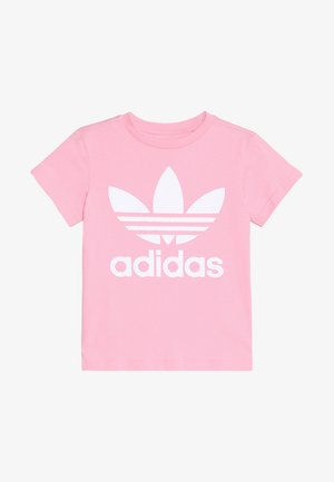 TREFOIL - Print T-shirt - light pink/white