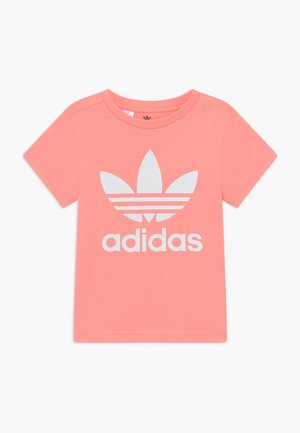 TREFOIL - T-shirt con stampa - pink/white