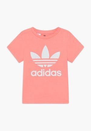 TREFOIL - T-shirts med print - pink/white