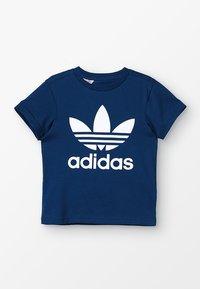 adidas Originals - TREFOIL - Print T-shirt - legend marine/white - 0