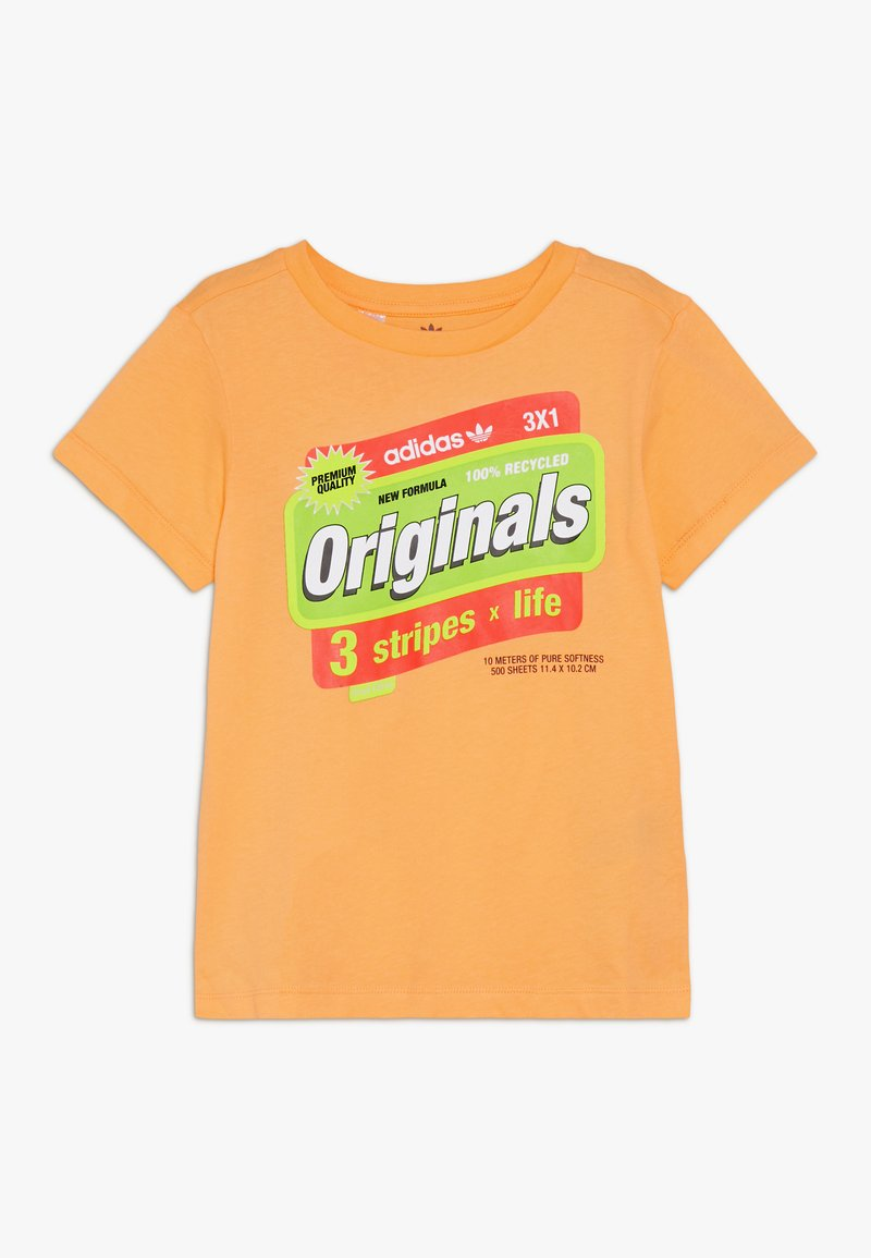 adidas Originals - GRAPHIC TEE - T-shirt imprimé - flaora/solred/syello/