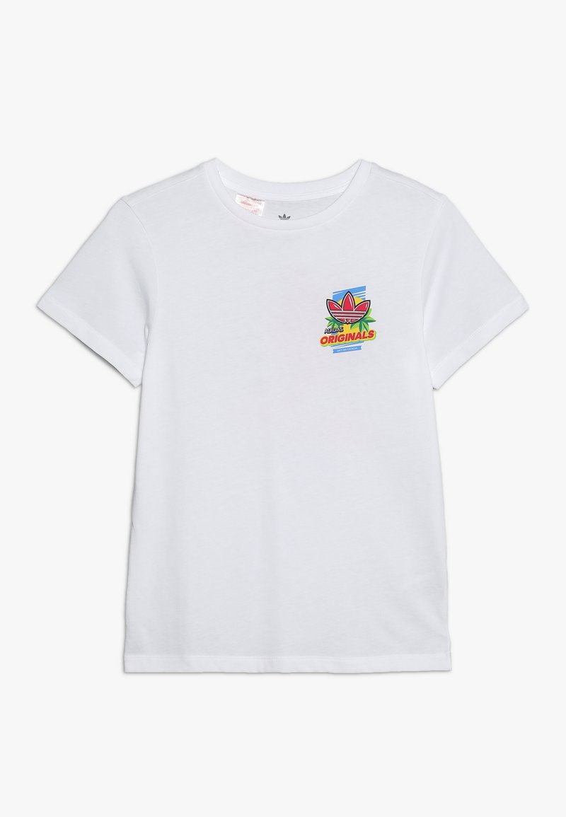 adidas Originals - GRAPHIC TEE - Camiseta estampada - white/multicolor