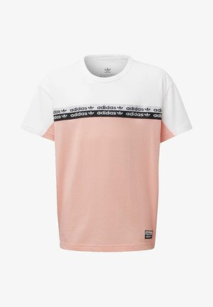 COLORBLOCK T-SHIRT - Print T-shirt - pink