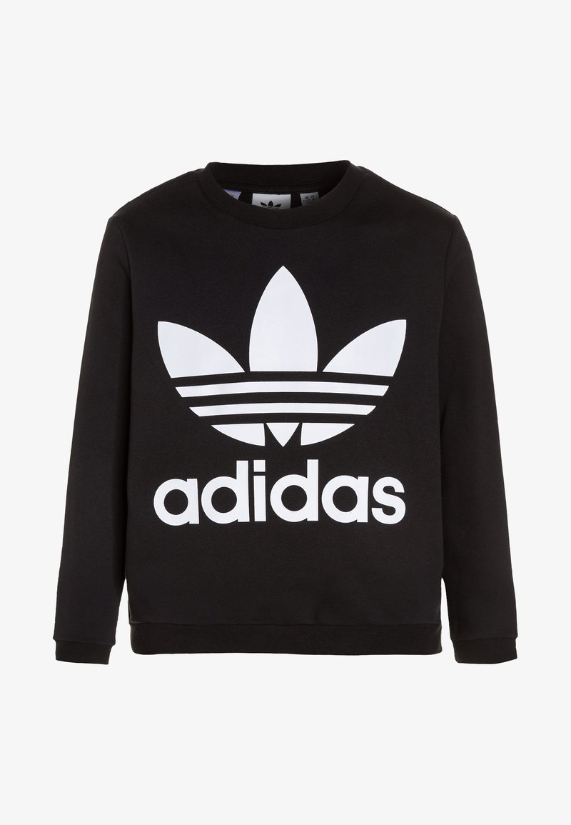 adidas Originals - CREW - Sweatshirt - black/white
