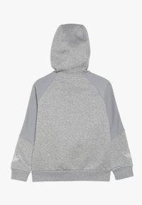 adidas Originals - OUTLINE HOODIE - Mikina na zip - grey - 1