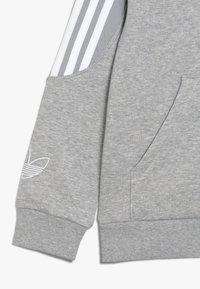 adidas Originals - OUTLINE HOODIE - Mikina na zip - grey - 2