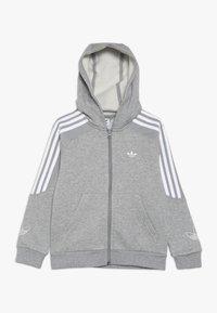 adidas Originals - OUTLINE HOODIE - Mikina na zip - grey - 0