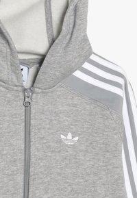 adidas Originals - OUTLINE HOODIE - Mikina na zip - grey - 4