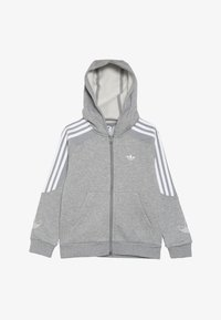 adidas Originals - OUTLINE HOODIE - Mikina na zip - grey - 3
