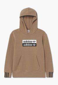 adidas Originals - HOOD - Hoodie - cardbo - 0
