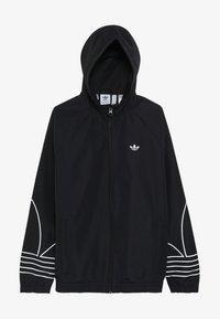adidas Originals - OUTLINE WINDBREAKER - Träningsjacka - black - 3