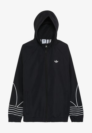 OUTLINE WINDBREAKER - Sportovní bunda - black
