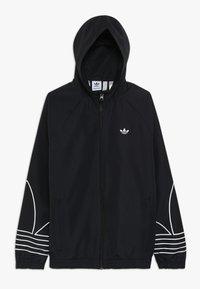 adidas Originals - OUTLINE WINDBREAKER - Träningsjacka - black - 0