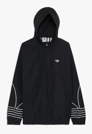 OUTLINE WINDBREAKER - Träningsjacka - black