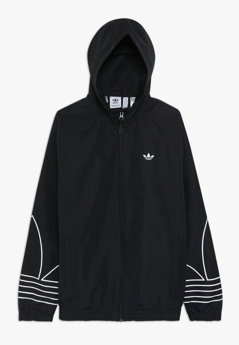 adidas Originals - OUTLINE WINDBREAKER - Träningsjacka - black