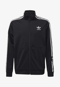 adidas Originals - TRACK TOP - Zip-up hoodie - black - 0