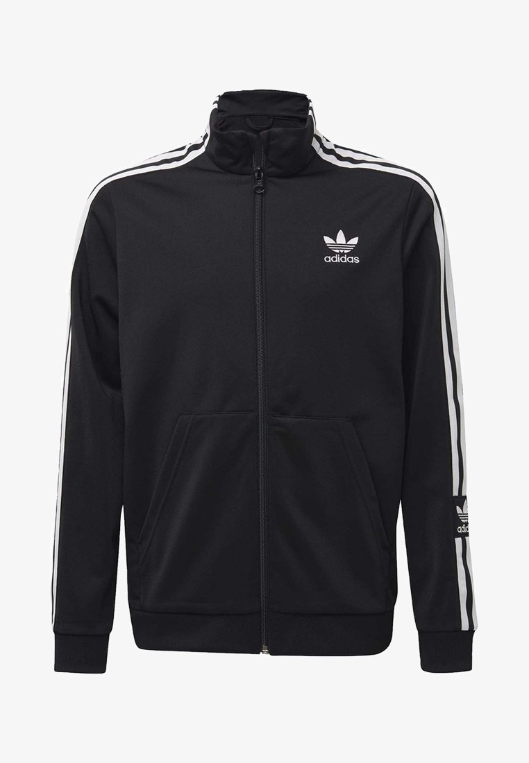adidas Originals - TRACK TOP - Zip-up hoodie - black