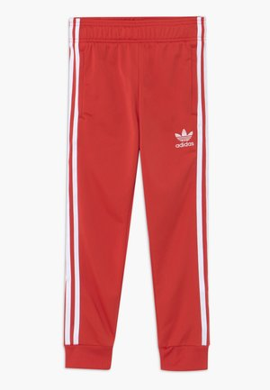 SUPERSTAR PANTS - Verryttelyhousut - lusred/white