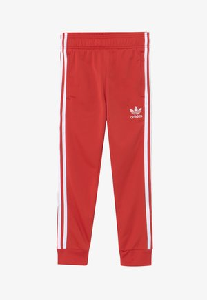SUPERSTAR PANTS - Pantalon de survêtement - lusred/white