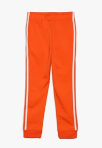 adidas Originals - SUPERSTAR PANTS - Pantaloni sportivi - orange/white - 1