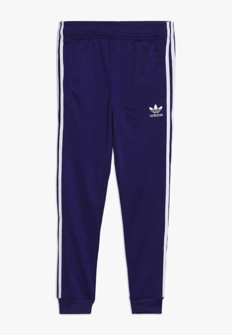 adidas Originals - SUPERSTAR PANTS - Verryttelyhousut - purple/white