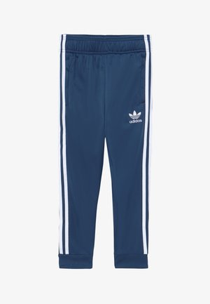 SUPERSTAR PANTS - Pantaloni sportivi - marin/white