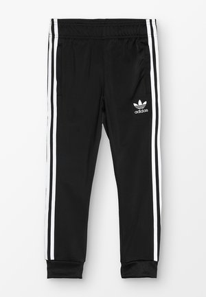 SUPERSTAR PANTS - Spodnie treningowe - black/white