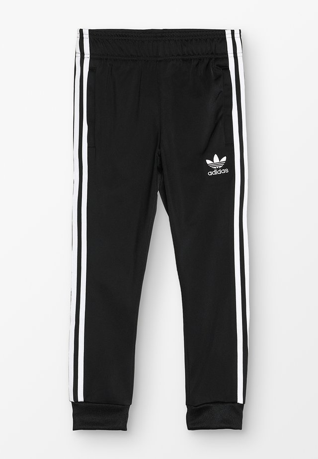 SUPERSTAR PANTS - Trainingsbroek - black/white