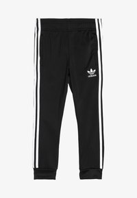 adidas Originals - SUPERSTAR PANTS - Pantaloni sportivi - black/white - 3