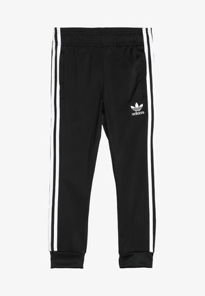 SUPERSTAR PANTS - Pantalones deportivos - black/white