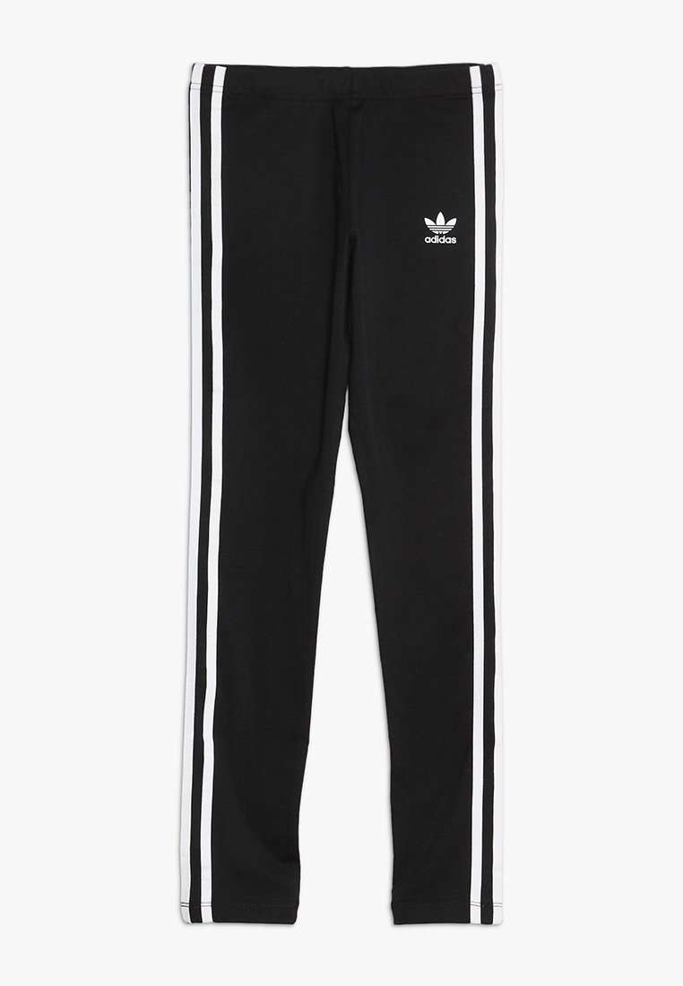 adidas Originals - STRIPES - Leggings - Hosen - black/white