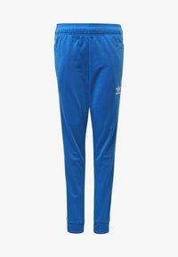 adidas Originals - SST TRACKSUIT BOTTOMS - Verryttelyhousut - blue/white - 8
