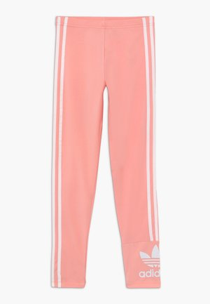 LOCK UP TIGHTS - Leggings - Trousers - pink/white
