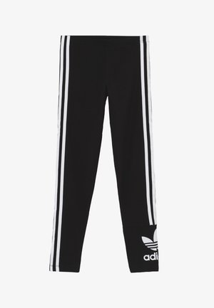 LOCK UP TIGHTS - Leggings - Trousers - black/white