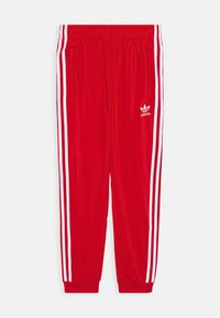 adidas Originals - ADICOLOR PRIMEGREEN PANTS - Tracksuit bottoms - scarle/white - 0