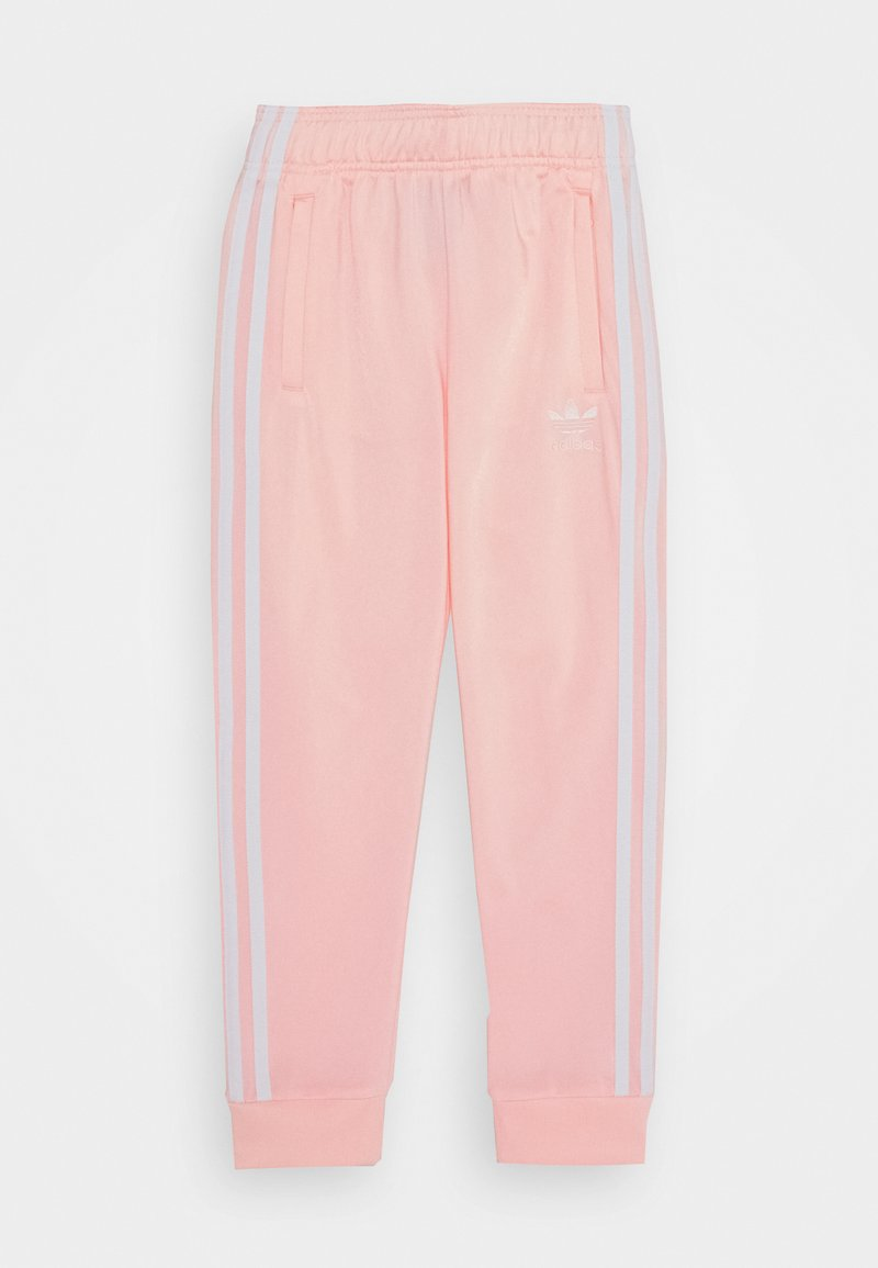 adidas Originals - ADICOLOR PRIMEGREEN PANTS - Tracksuit bottoms - hazcor/white