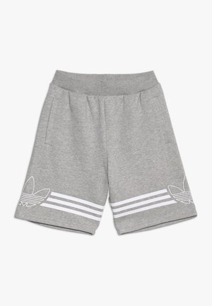 OUTLINE - Short - medium grey heather/white